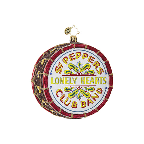 Beatles Sgt. Pepper's Drum Ornament