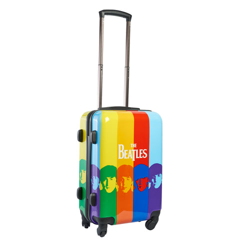 "Color Stripe 21"" Printed Hardcase Spinner Luggage"