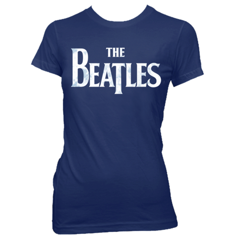 The Beatles Classic Blue Women's T-Shirt