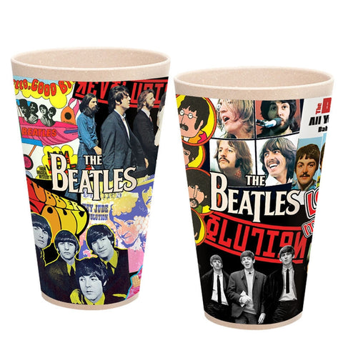 Album Collage 2 pc. 24 oz. Bamboo Cup Set