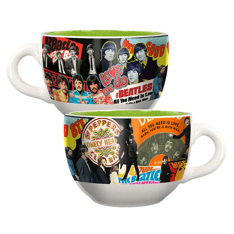 Album Collage 20 oz. Ceramic Soup Mug