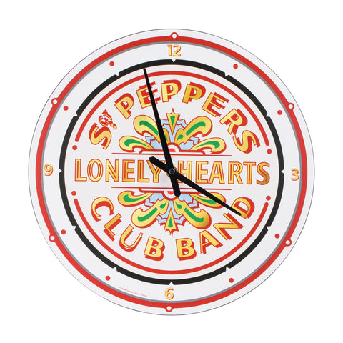 Sgt. Pepper Collage Wood Wall Clock