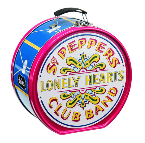 Sgt. Pepper Drum Shaped Tin Tote
