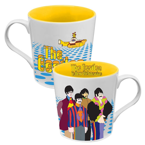 Yellow Submarine 12 oz. Ceramic Mug