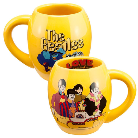 Yellow Submarine 18 oz. Oval Ceramic Mug