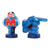 Blue Meanie Ceramic Salt & Pepper Shaker Set