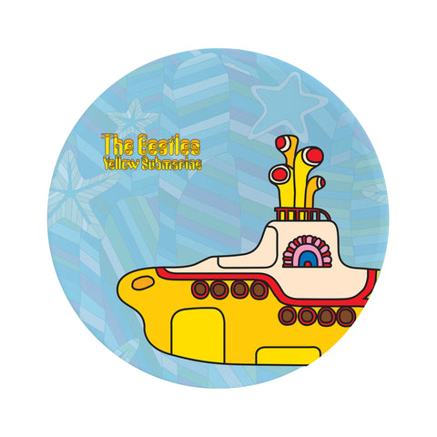 Yellow Submarine Ceramic Dinner Plate Set
