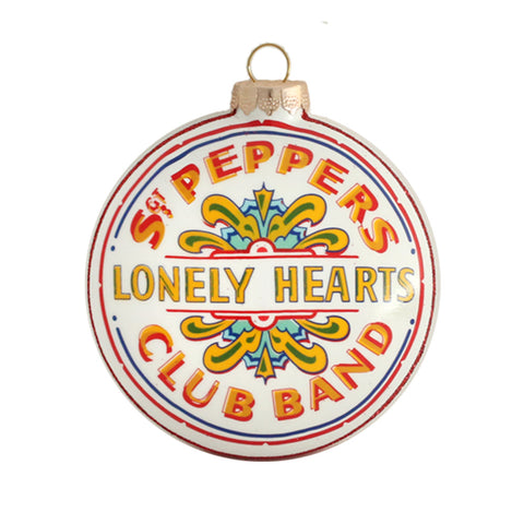 Sgt. Pepper Round Ornament