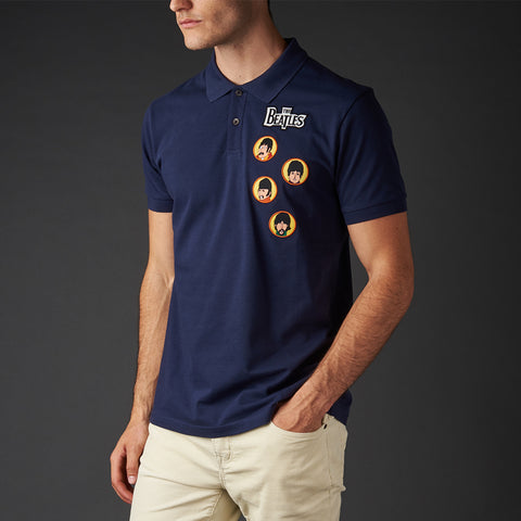 Get Back Navy Polo