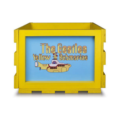 Yellow Submarine Storage Crate