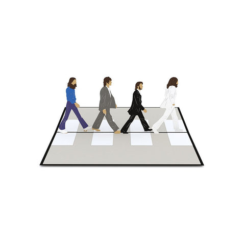 Abbey Road Love Pop Card