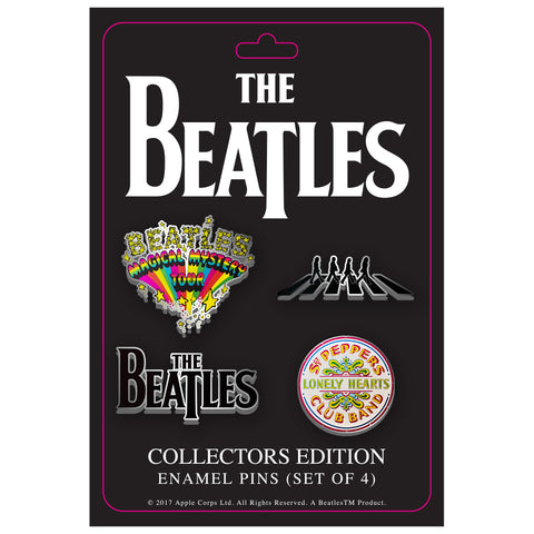 The Beatles Collector's Edition Enamel Pin Set