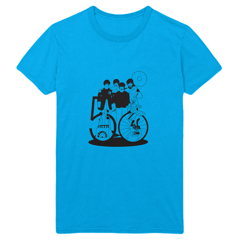 Yellow Submarine 50th Anniversary Turquoise T-Shirt