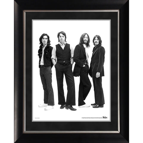 The Beatles '1970 Group Portrait' 11x14 Framed Photo