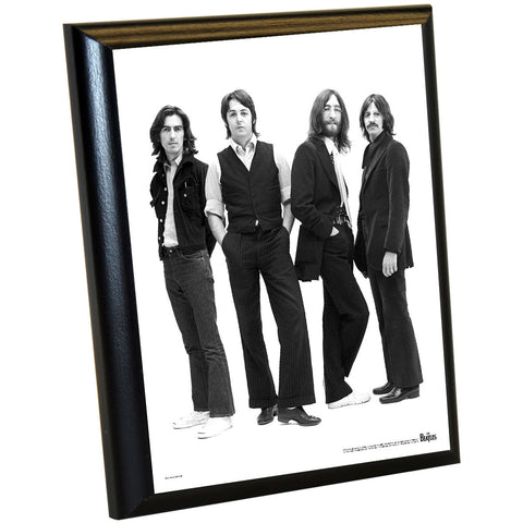 The Beatles '1970 Group Portrait' 8x10 Plaque