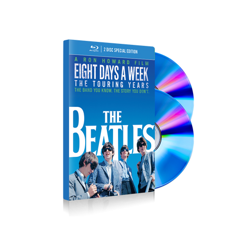 """Eight Days A Week - The Touring Years"" Deluxe 2 Blu-ray"