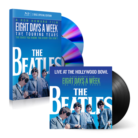 Eight Day's A Week Deluxe Blu-ray + LP