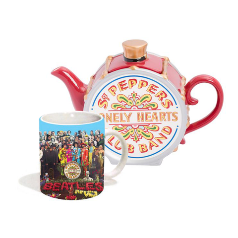 Sgt. Pepper Tea Pot + Mug Bundle