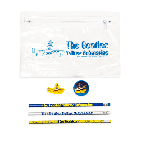 Yellow Submarine Pencil and Eraser Set