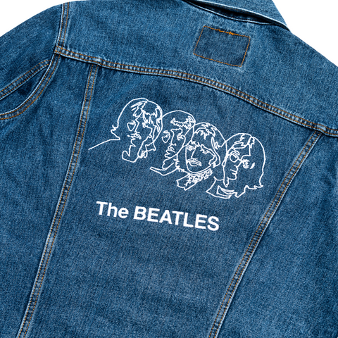 The Beatles (White Album) Super Deluxe Edition, Deluxe Edition 4LP + Limited Edition Levi's Denim Jacket