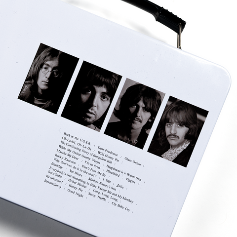 The Beatles (White Album) Tin Tote