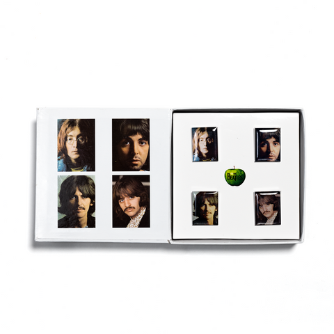 The Beatles (White Album) Deluxe Edition 4LP + Limited Edition Pin Set