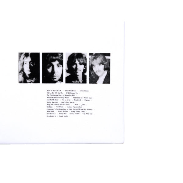 The Beatles White Album Limited Edition Numbered Ceramic