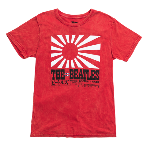 Kanji Japan Flag T-Shirt