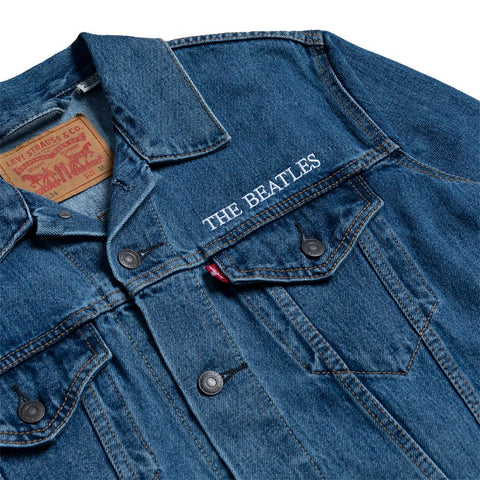 Abbey Road Blue Levi's Denim Jacket