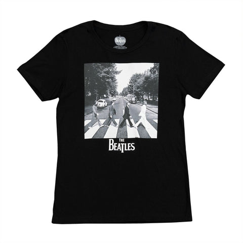 Abbey Road Black and White Women's T-Shirt