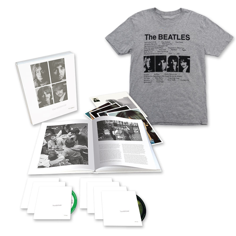 The beatles (white album) 3cd deluxe edition.
