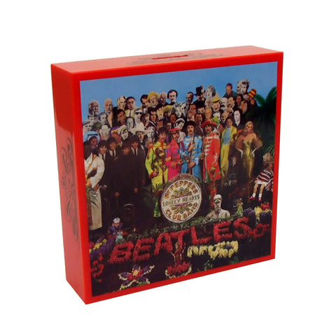 Famous Covers Coin Banks Sgt. Peppers