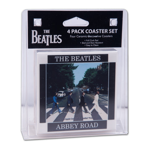 Abbey Road Ceramic Coaster Set