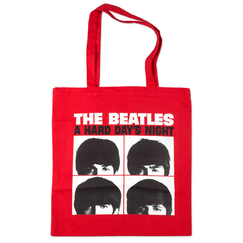 Hard Day's Night Red Tote Bag