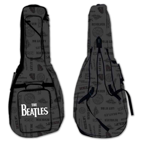 Beatles Logo Bass Guitar Gig Bag