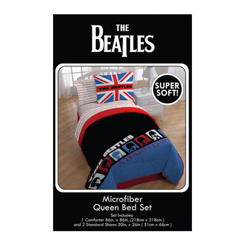 Hard Day's Night Queen Comforter