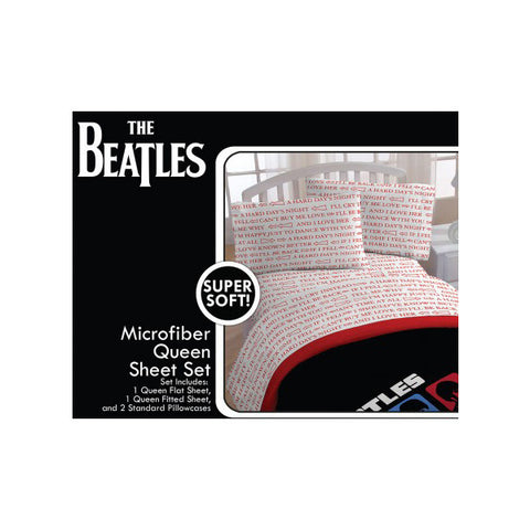Hard Day's Night Queen Sheet Set