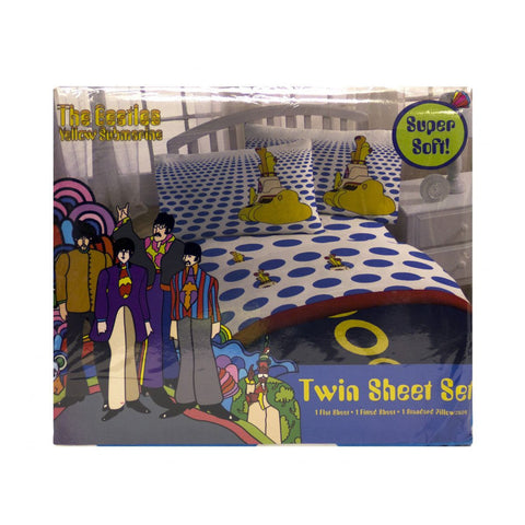 Yellow Submarine Twin Sheet Set