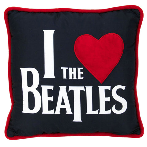 I Heart The Beatles Pillow