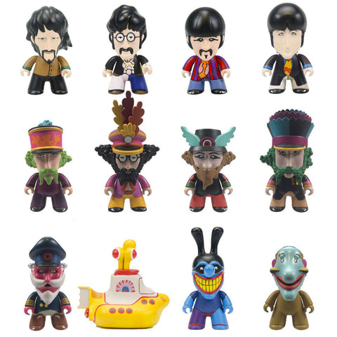 Yellow Submarine Figurines