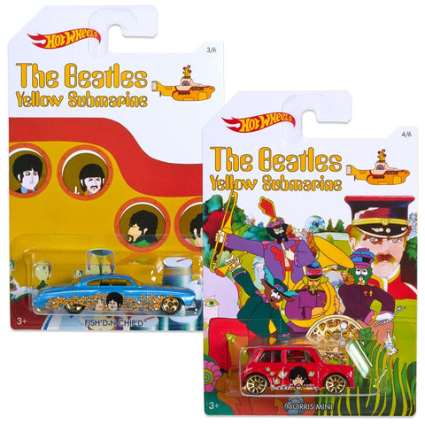 Beatles Hot wheels (Set of 7)