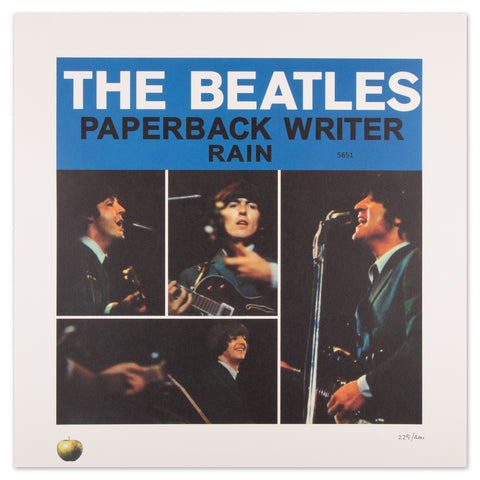 Paperback Writer Lithograph Collection