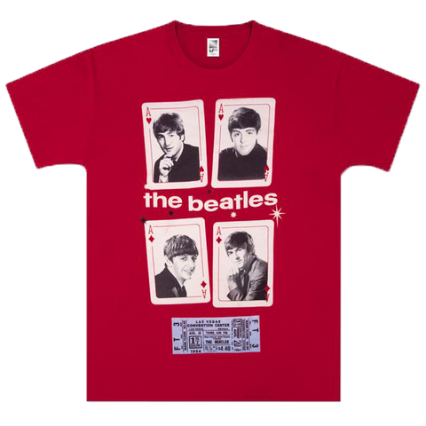 Beatles Vegas Cards T-Shirt