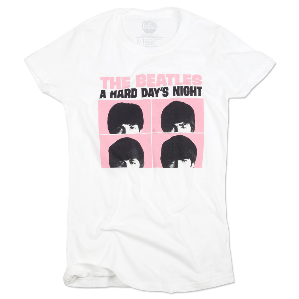 6f3725009 Hard Day's Night Stacked Women's T-Shirt – The Beatles