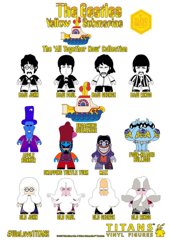 "The Beatles TITANS: The ""All Together Now"" Single Unit - Blind Box"