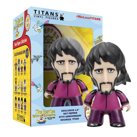 "The Beatles TITANS: 4.5"" Sgt Pepper Disguise George"