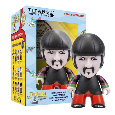 "The Beatles TITANS: 4.5"" Sgt Pepper Disguise Ringo"