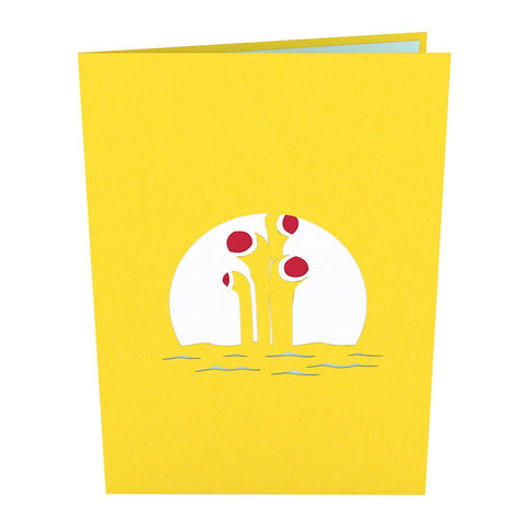 Yellow Submarine Love Pop Card