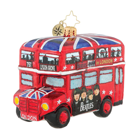 The British Invasion Ornament