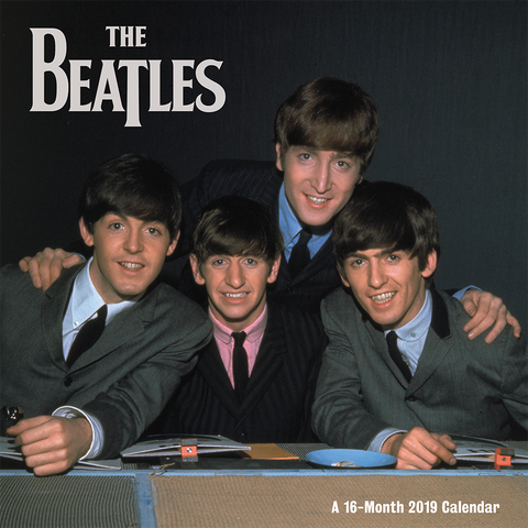 The Beatles 2019 Day Dream Wall Calendar